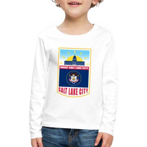 Utah - Salt Lake City - Kids' Premium Long Sleeve T-Shirt