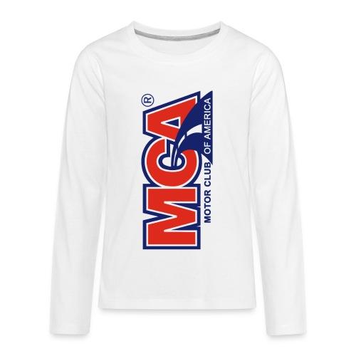 MCA Logo Iphone png - Kids' Premium Long Sleeve T-Shirt