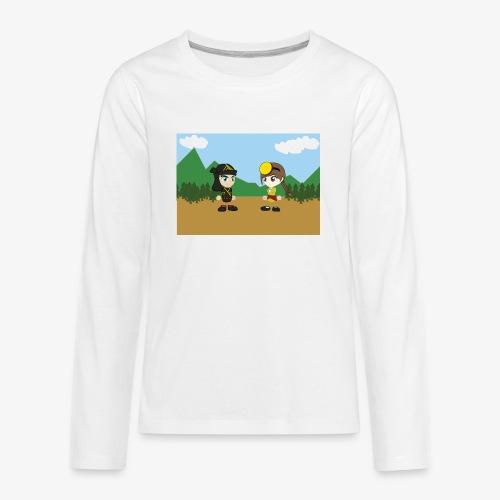 Digital Pontians - Kids' Premium Long Sleeve T-Shirt