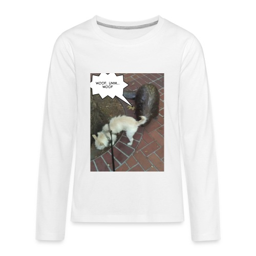 Naughty lil beaver - Kids' Premium Long Sleeve T-Shirt