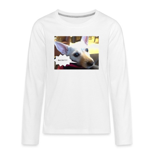 I smell bacon - Kids' Premium Long Sleeve T-Shirt