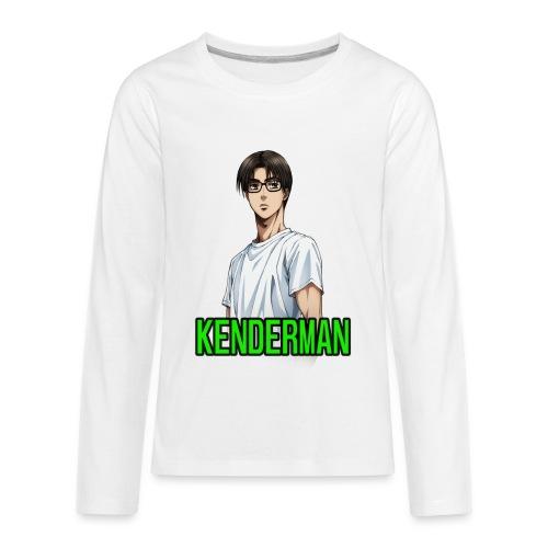 Kenderman manga style merch - Kids' Premium Long Sleeve T-Shirt