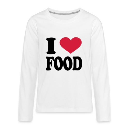 i love food - Kids' Premium Long Sleeve T-Shirt