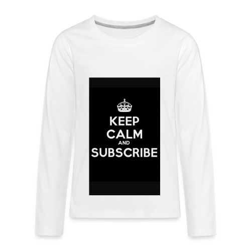 Keep calm merch - Kids' Premium Long Sleeve T-Shirt