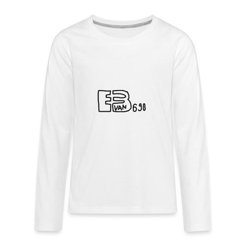 Evan3690 Logo - Kids' Premium Long Sleeve T-Shirt