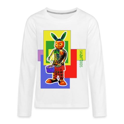 smARTkids - Slammin' Rabbit - Kids' Premium Long Sleeve T-Shirt
