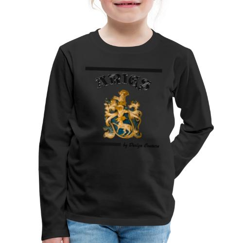 ARIES BLACK - Kids' Premium Long Sleeve T-Shirt