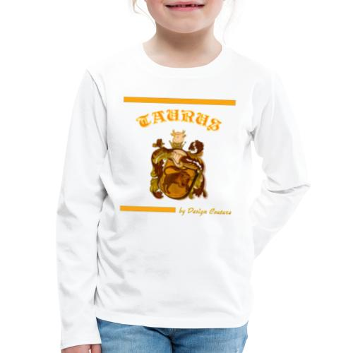 TAURUS ORANGE - Kids' Premium Long Sleeve T-Shirt