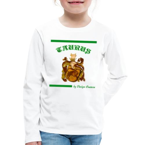 TAURUS GREEN - Kids' Premium Long Sleeve T-Shirt