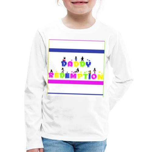 DADDY REDEMPTION T SHIRT TEMPLATE - Kids' Premium Long Sleeve T-Shirt