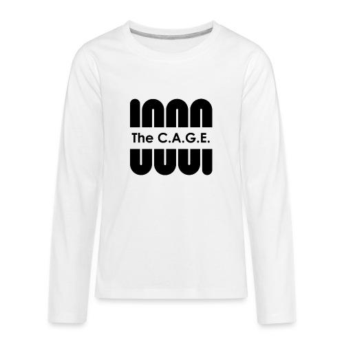 Coil black png - Kids' Premium Long Sleeve T-Shirt