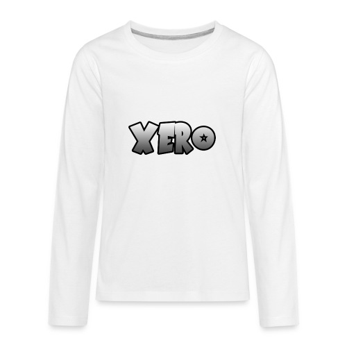 Xero (No Character) - Kids' Premium Long Sleeve T-Shirt