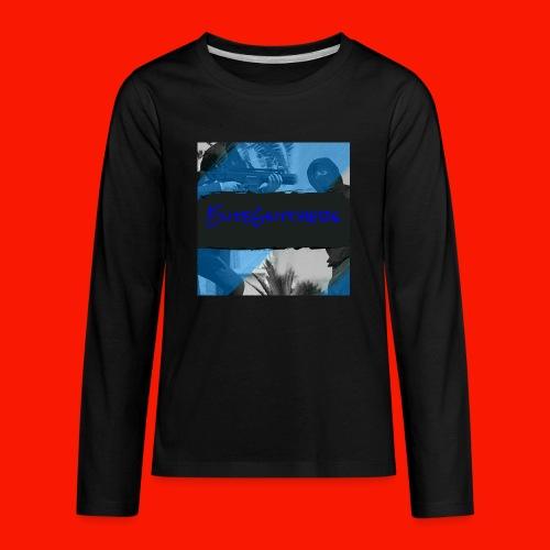 EliteGlitchersRevamp - Kids' Premium Long Sleeve T-Shirt
