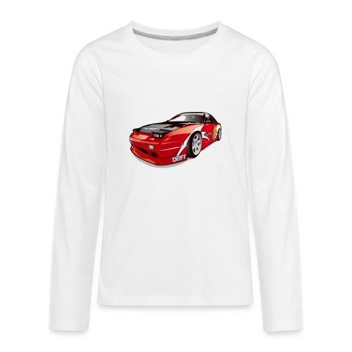 cars drift - Kids' Premium Long Sleeve T-Shirt