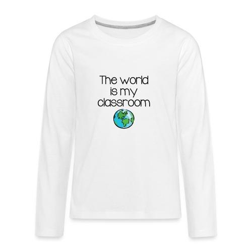 World Classroom - Kids' Premium Long Sleeve T-Shirt