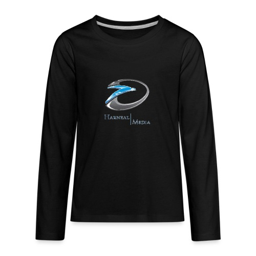 Harneal Media Logo Products - Kids' Premium Long Sleeve T-Shirt