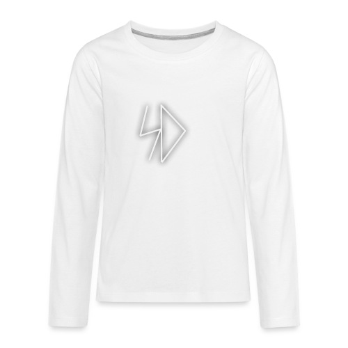 Sid logo white - Kids' Premium Long Sleeve T-Shirt