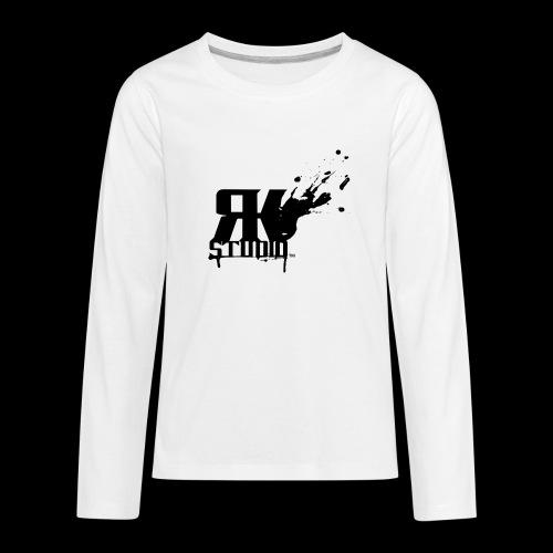RKStudio Black Version - Kids' Premium Long Sleeve T-Shirt