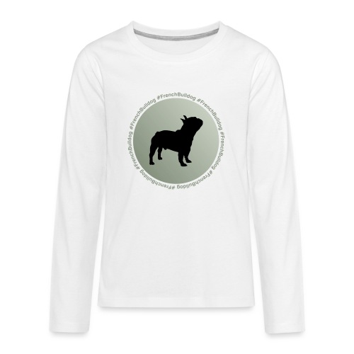French Bulldog - Kids' Premium Long Sleeve T-Shirt