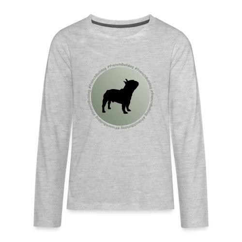 French Bulldog - Kids' Premium Long Sleeve T-Shirt
