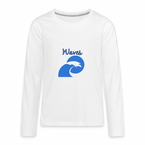 Waves - Kids' Premium Long Sleeve T-Shirt