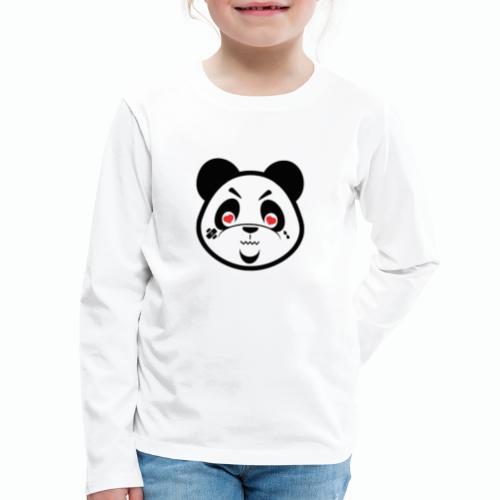 XQZT Mascot - PacBear - Kids' Premium Long Sleeve T-Shirt