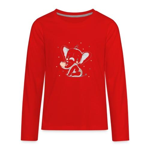 Baby elephant - Kids' Premium Long Sleeve T-Shirt