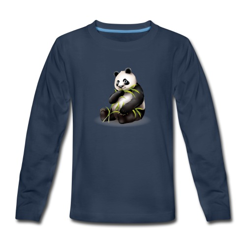 Hungry Panda - Kids' Premium Long Sleeve T-Shirt