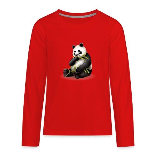 Hungry Panda - Kids' Premium Long Sleeve T-Shirt