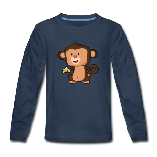 Baby Monkey - Kids' Premium Long Sleeve T-Shirt