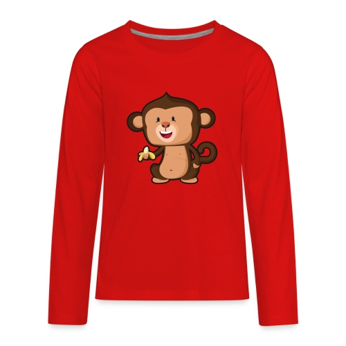 Baby Monkey - Kids' Premium Long Sleeve T-Shirt