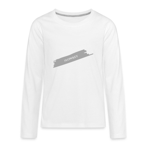 #LOWKEY - Kids' Premium Long Sleeve T-Shirt