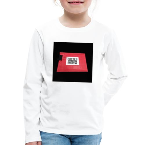 Distraction Envelope - Kids' Premium Long Sleeve T-Shirt