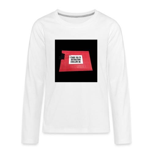 Distraction Envelope - Kids' Premium Long Sleeve T-Shirt