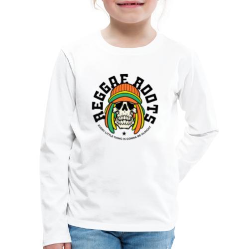 reggae music roots jamaica - Kids' Premium Long Sleeve T-Shirt