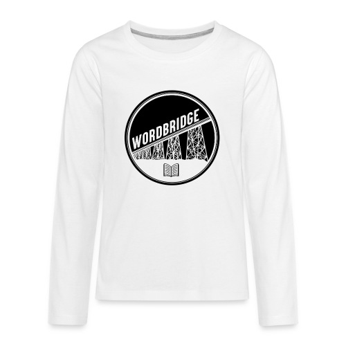 WordBridge Conference Logo - Kids' Premium Long Sleeve T-Shirt
