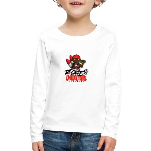 Reckless and Untouchable_1 - Kids' Premium Long Sleeve T-Shirt