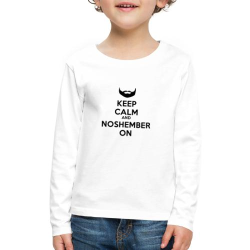 Noshember.com iPhone Case - Kids' Premium Long Sleeve T-Shirt