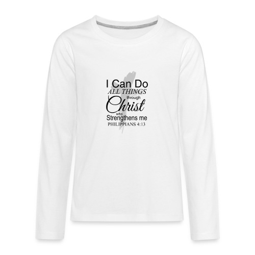 Philippians 4 13 - Kids' Premium Long Sleeve T-Shirt