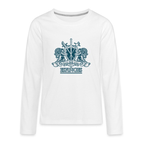 Fight Like a Girl 2 - Kids' Premium Long Sleeve T-Shirt