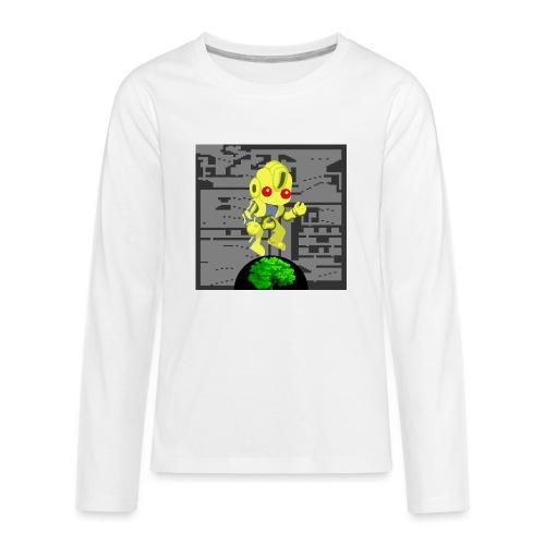 Hollow Earth Mens - Kids' Premium Long Sleeve T-Shirt