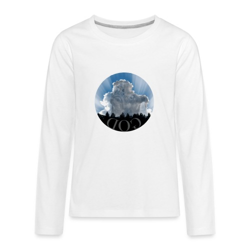 Dog is God - Kids' Premium Long Sleeve T-Shirt