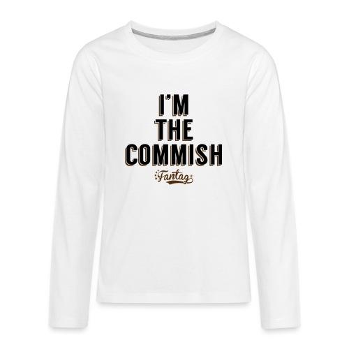 I'm the Commish: Coffee Mug - Kids' Premium Long Sleeve T-Shirt