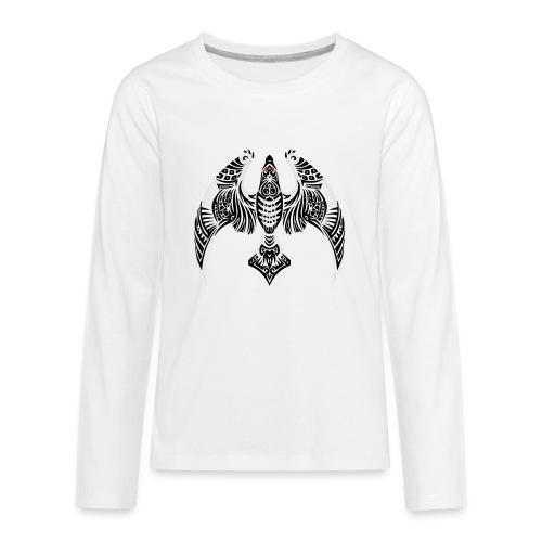 Hawk Totem - Kids' Premium Long Sleeve T-Shirt