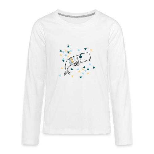Music Whale - Kids' Premium Long Sleeve T-Shirt