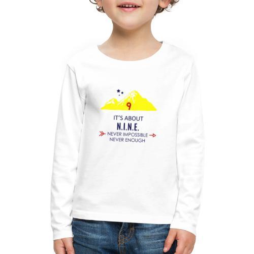 Design Mountain NEW - Kids' Premium Long Sleeve T-Shirt