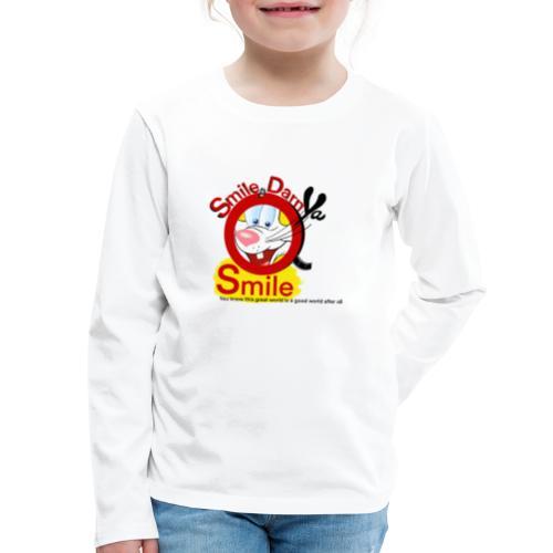 Smile Darn Ya Smile - Kids' Premium Long Sleeve T-Shirt