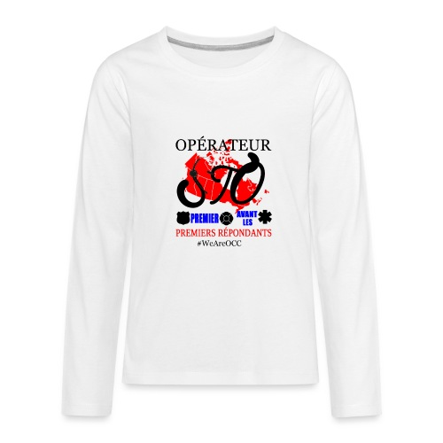 Operateur STO plus size - Kids' Premium Long Sleeve T-Shirt