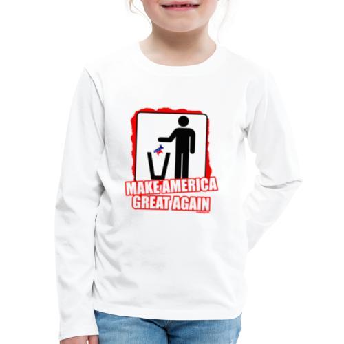 MAGA TRASH DEMS - Kids' Premium Long Sleeve T-Shirt