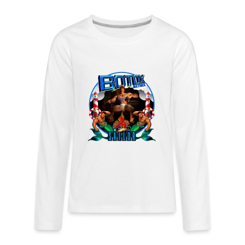 BOTOX MATINEE SAILOR T-SHIRT - Kids' Premium Long Sleeve T-Shirt